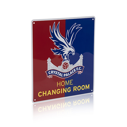 Red & Blue Changing Room Sign