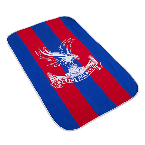 Red and Blue Fleece Blanket