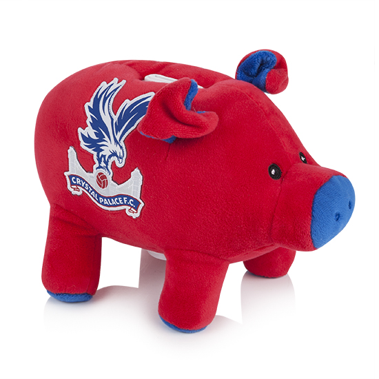 Red & Blue Soft Toy Piggy Bank
