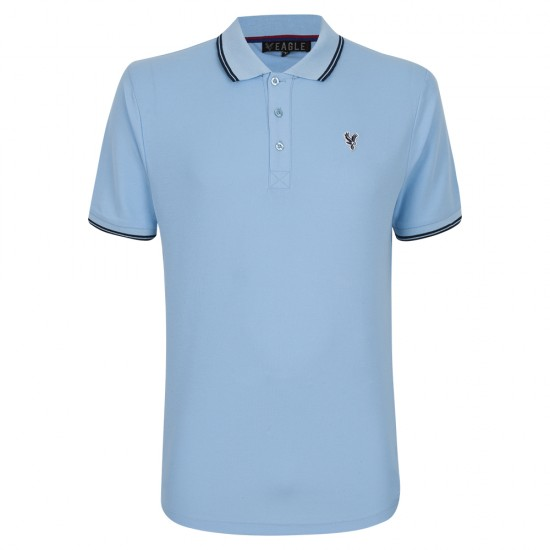 Eagle Sky/Navy Polo Shirt