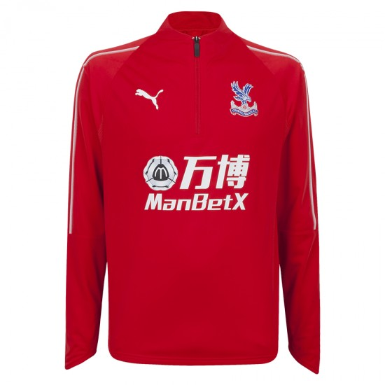 18/19 Training 1/4 Zip Sweatshirt Red
