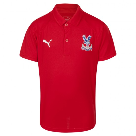 18/19 Travel Polo Shirt Red Youth