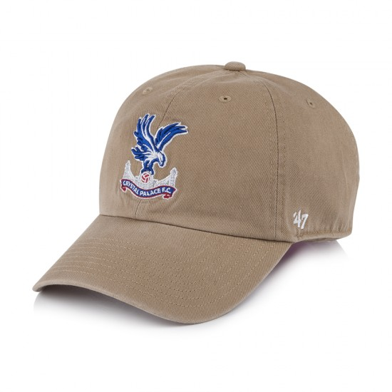 6222c7d058c CPFC 47 Sand Logo Clean Up Cap