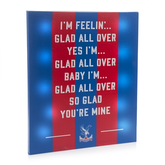 Glad All Over LED Canvas
