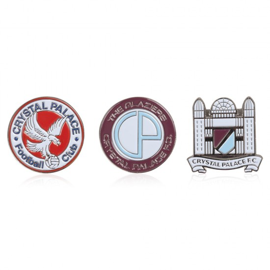 3 Pack Retro Crest Badges