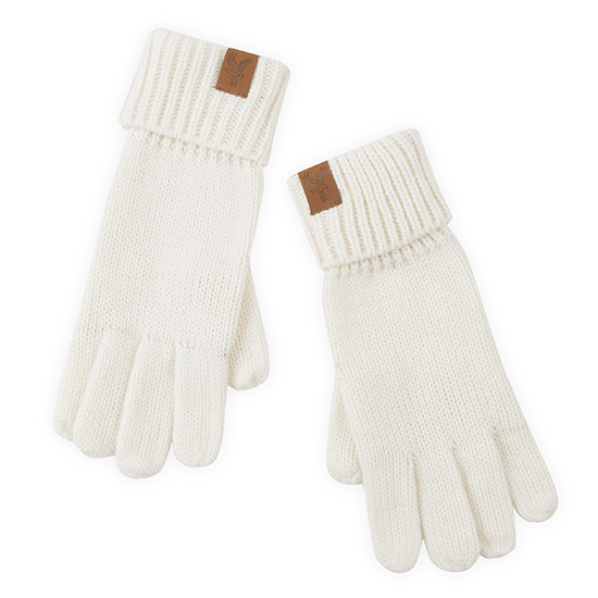Ladies Cable Gloves