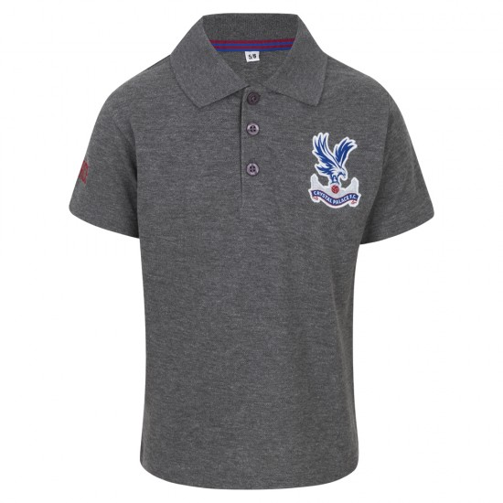 Essentials Grey Youth Polo Shirt