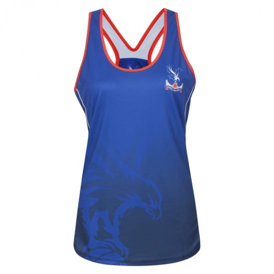 Logo Womens Racer Back Vest