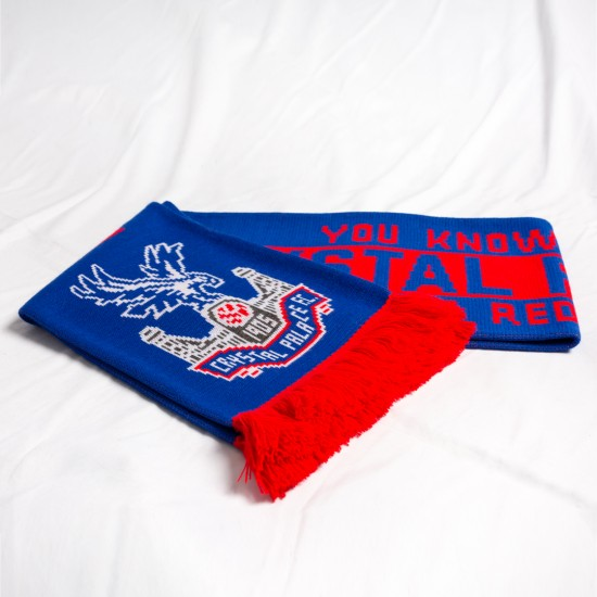 CPFC Red and Blue Scarf