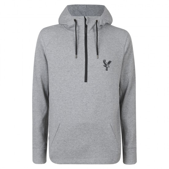 Eagle Grey Tech Fleece Zip Hoodie