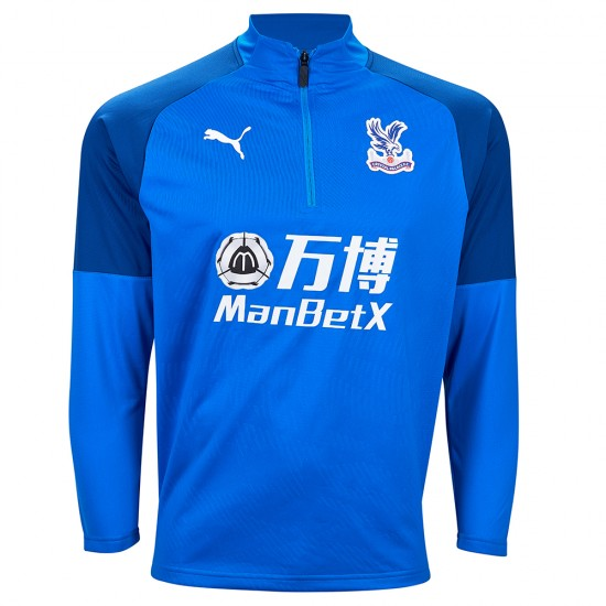 19/20 Training 1/4 Zip Sweatshirt Royal