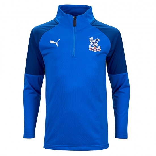 19/20 Training 1/4 Zip Sweatshirt Royal Youth