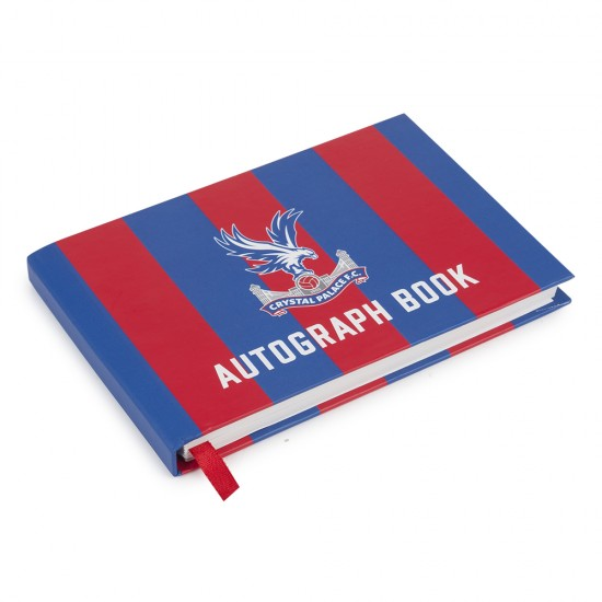 Red/Blue Autograph Book