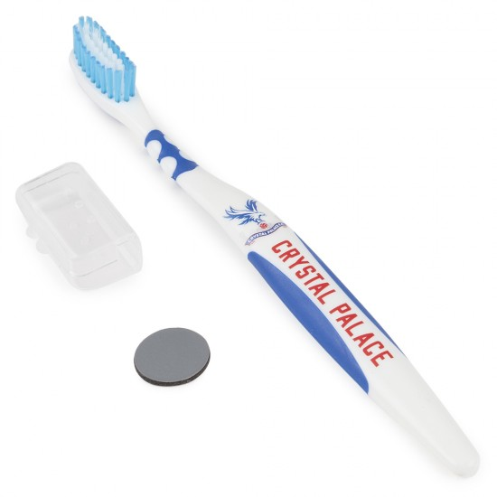 Logo Blue Toothbrush Adult