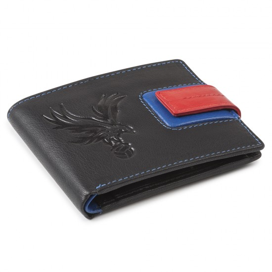 Eagle on Ball Black Wallet