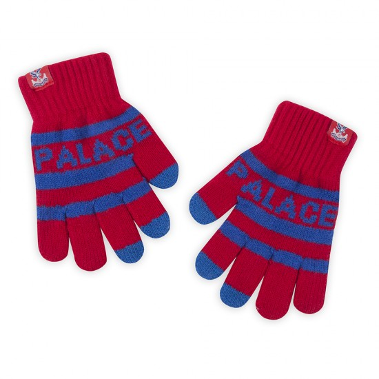Striped Kids Gloves