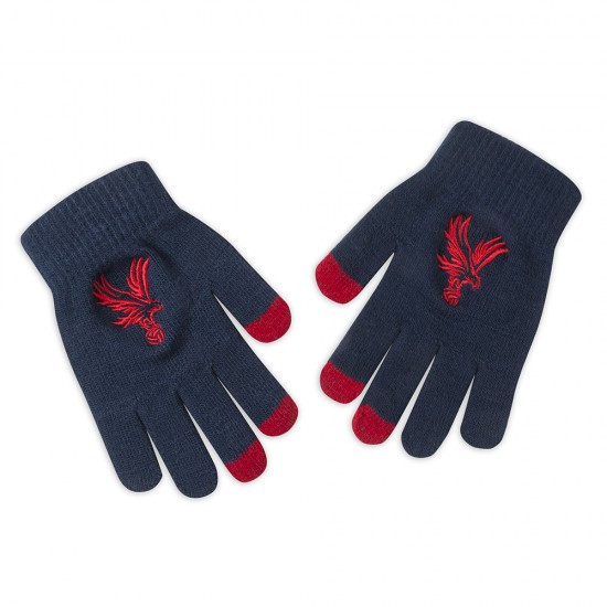 Navy Adults Gloves