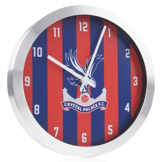 Red and Blue Striped Clock