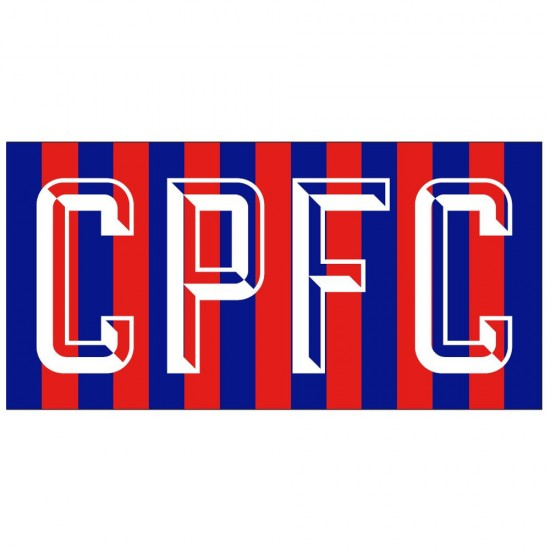 CPFC Printed Sports Towel