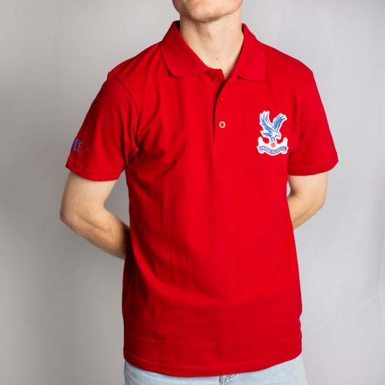 Essentials Red Polo Shirt