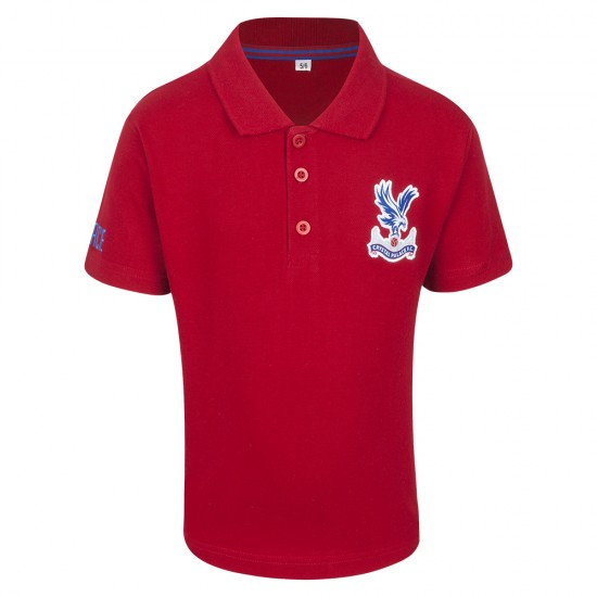 Essentials Red Polo Shirt Youth