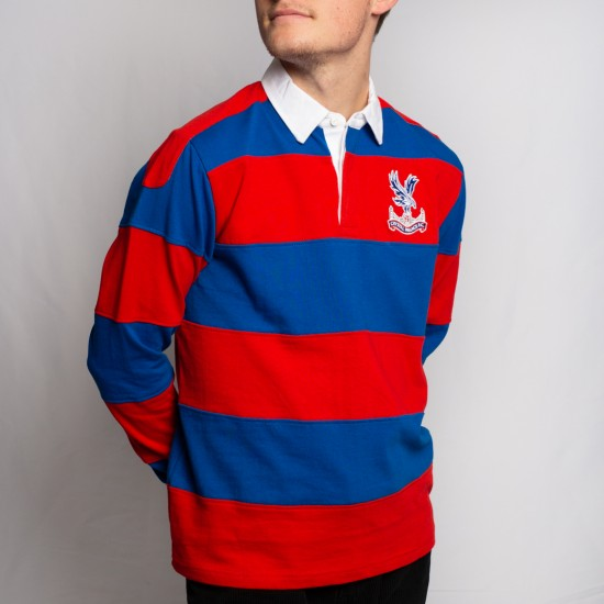Red and Blue Rugby Top