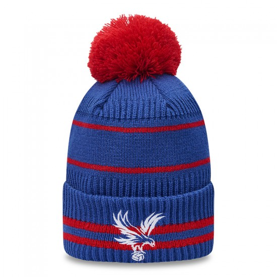 New Era Royal/Red Eagle Bobble Hat