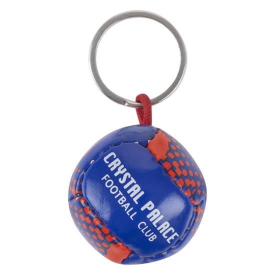 CPFC Red and Blue Ball Keyring