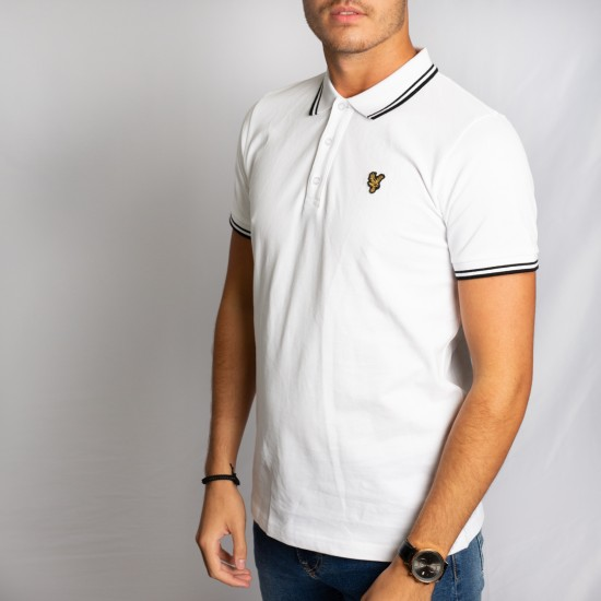 Palace Wings Polo Shirt White