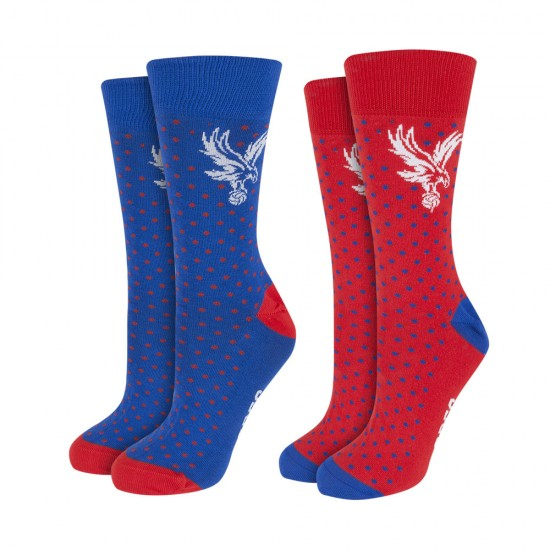 CPFC Spotted Socks (2 pack)