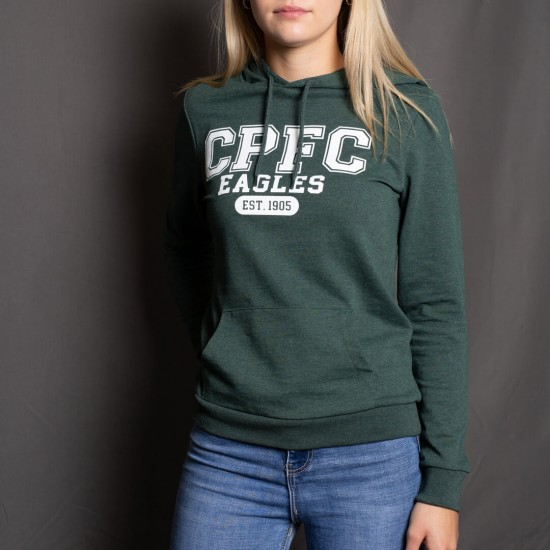 CPFC Heather Green Hoodie