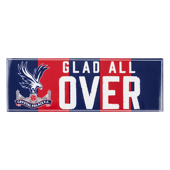 Large Glad All Over Sticker