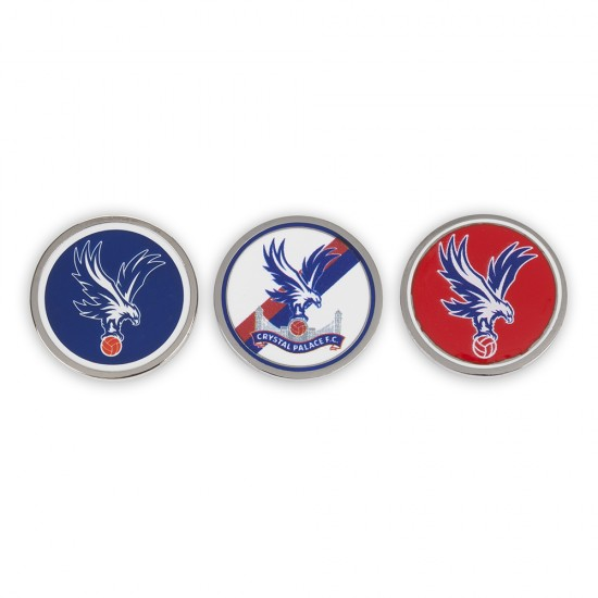 CPFC Golf Ball Markers (Pack of 3)