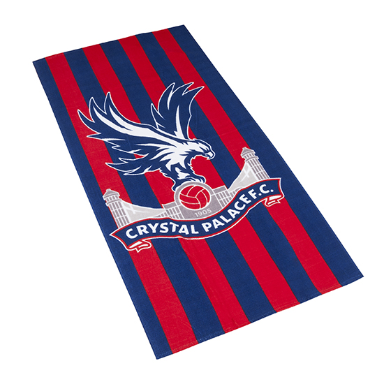 CPFC Striped Beach Towel