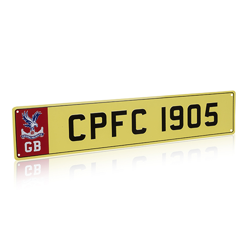 CPFC1905 Metal License Plate