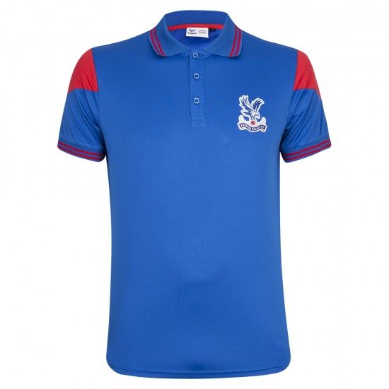 Crest Poly Fitness Polo Shirt
