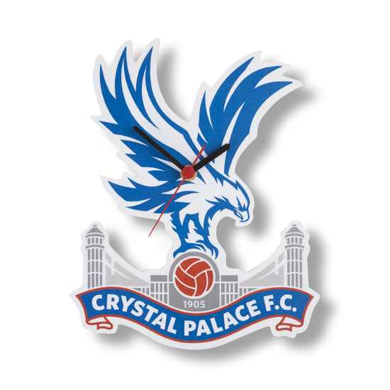 Crystal Palace F.C. Wooden Clock