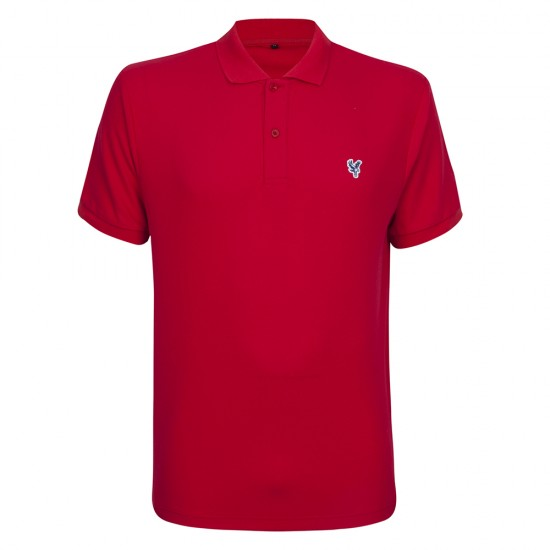 Eagle Core Polo Shirt Red