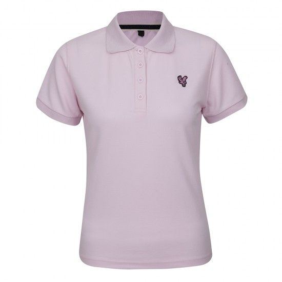 Eagle Ladies Pink Polo Shirt