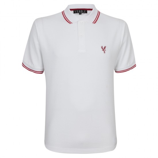 Eagle Polo Shirt White/Red