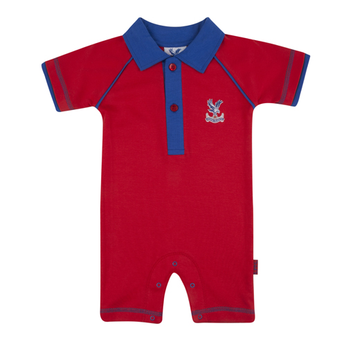 Eaglet Red Baby Romper Suit