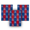 Red and Blue Wrapping Paper (3 Sheets)