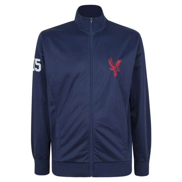 Large Eagle Zip Track Top