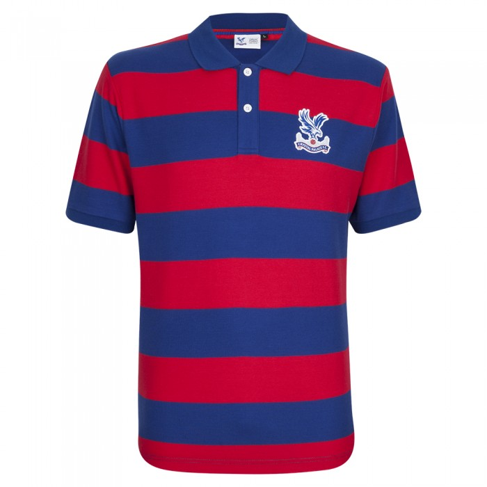 Logo Red/Blue Polo Shirt
