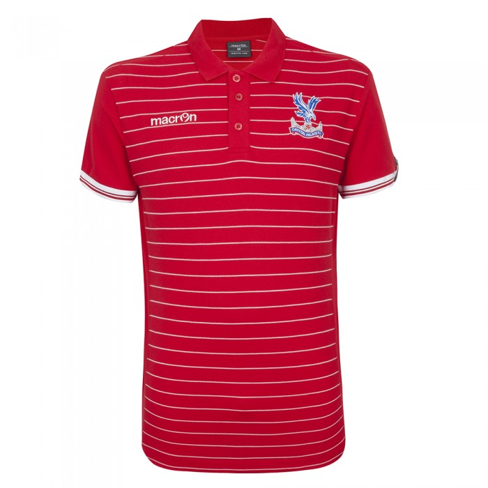 Macron Jungle Polo Shirt Red