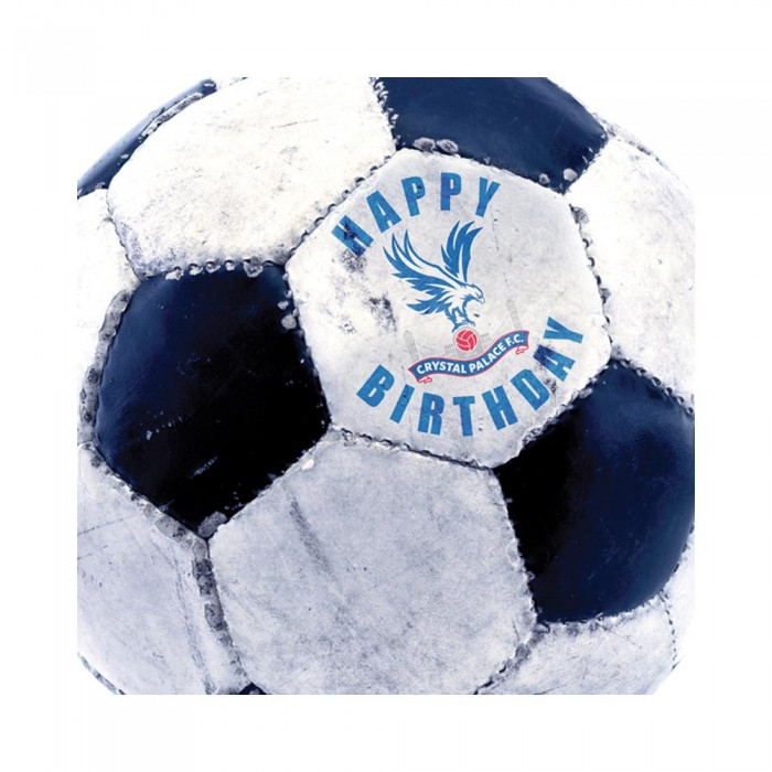 Retro Football Happy Birthday Card