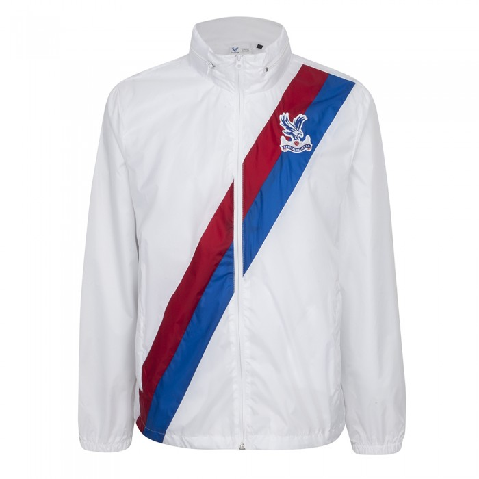 Sash Rain Jacket White