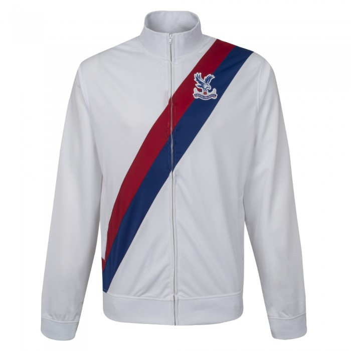 Sash Track Jacket White
