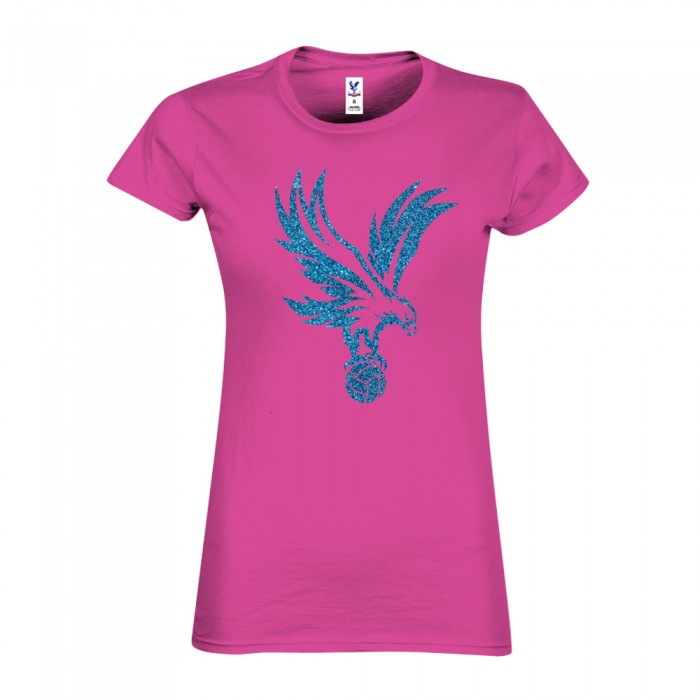 Eagle on Ball T-Shirt Ladies