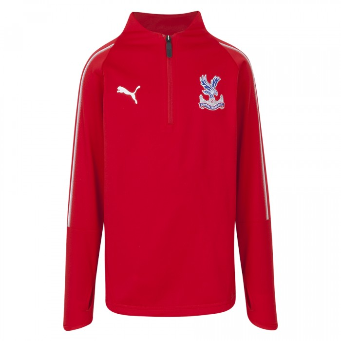 18/19 Training 1/4 Zip Sweatshirt Red Youth